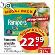 Pampers-edeka