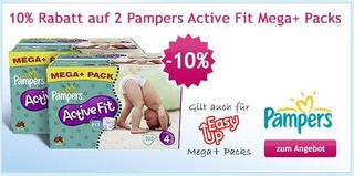 Pampers-angebot